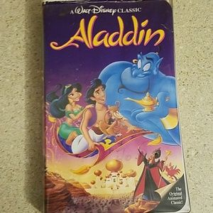 Walt Disney Aladdin vhs